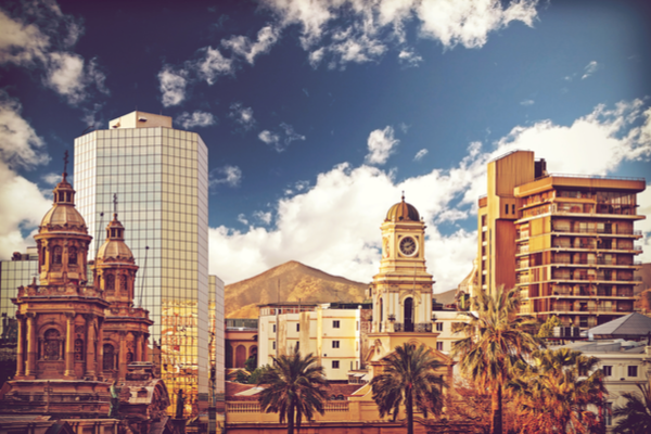 Santiago de Chile is the capital of Chile
