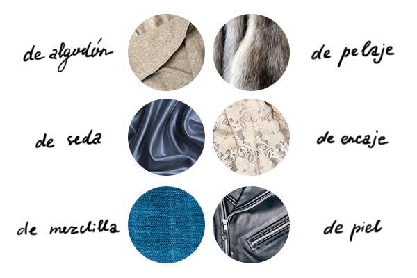 Learn the Spanish words for the most popular fabrics